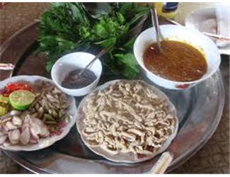 Gỏi cá nhệch - Đặc sản Kim Sơn